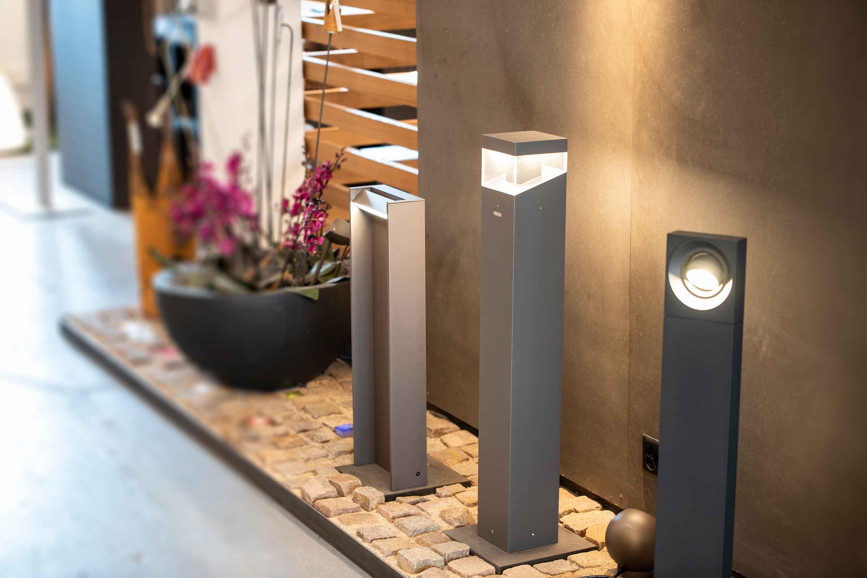 ai-concept GmbH | Aussenleuchten & Innenleuchten | Showroom