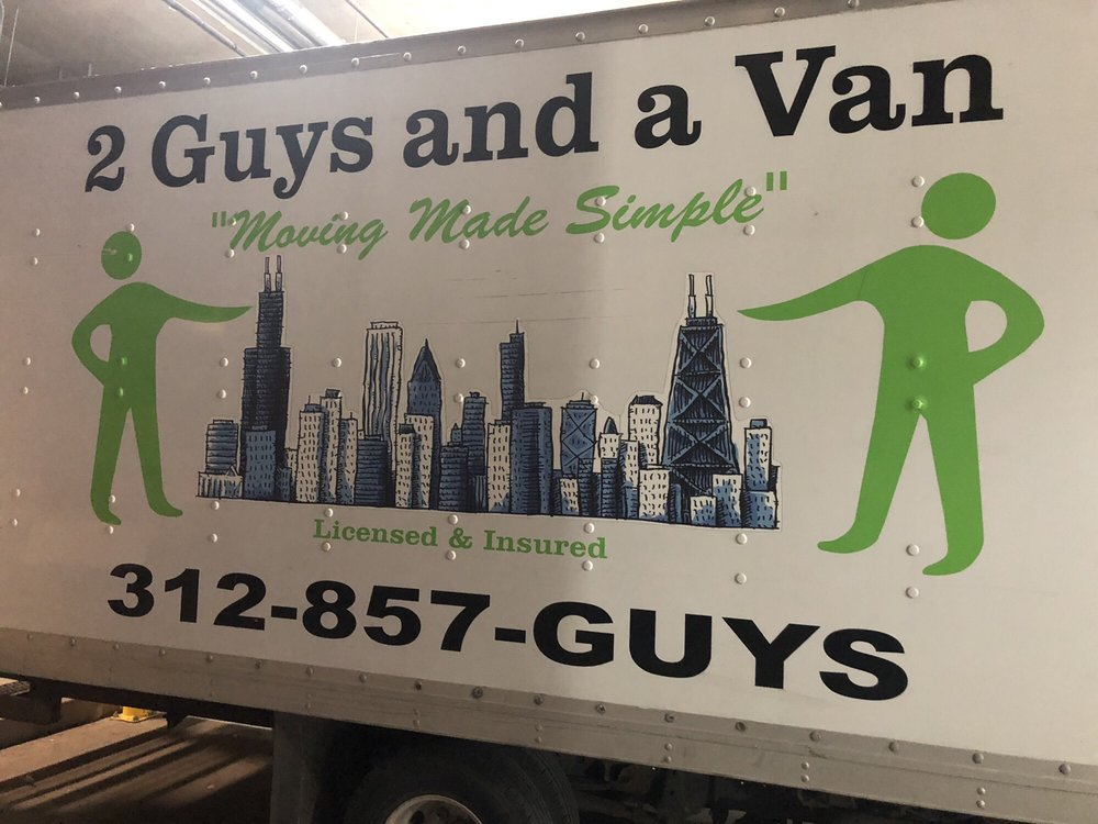 2 guys and a van