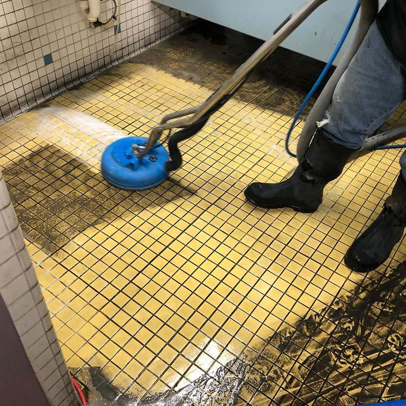 Commercial tile and grout cleaning in Georgia