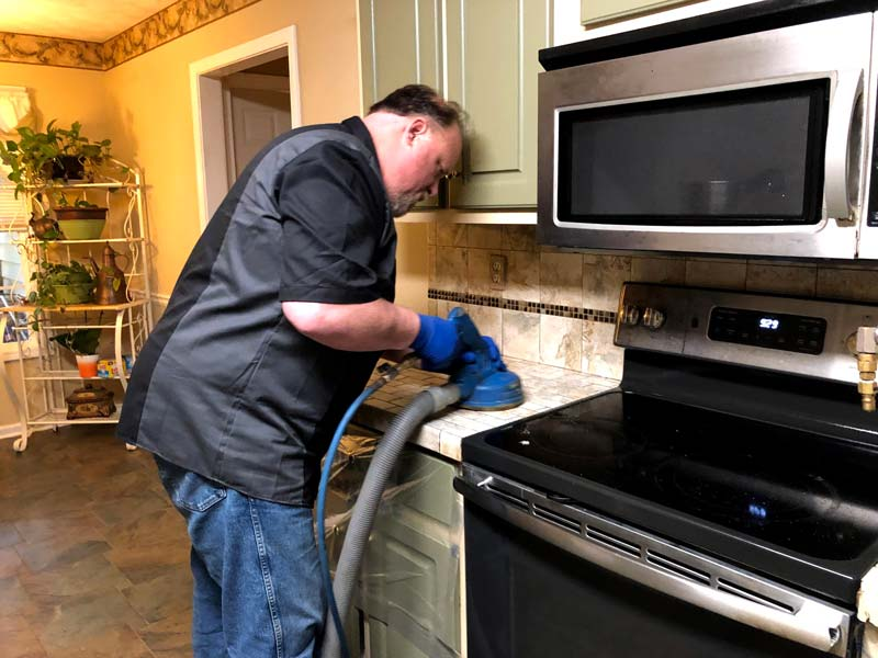 Rob, tile and grout cleaning in Monroe, GA