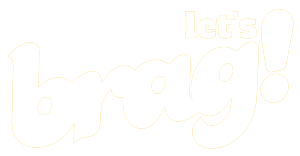 Let's Brag Logo