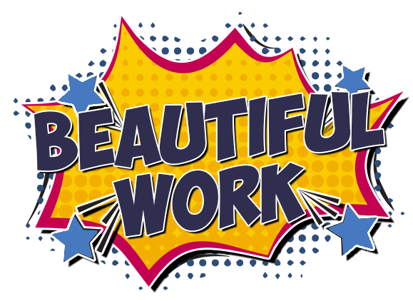 Beautiful Work Website Design Icon