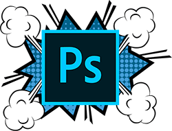 Photoshop web design skills