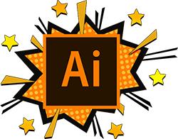 Illustrator web design skils