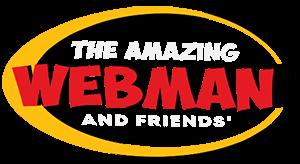 The Amazing Webman Logo