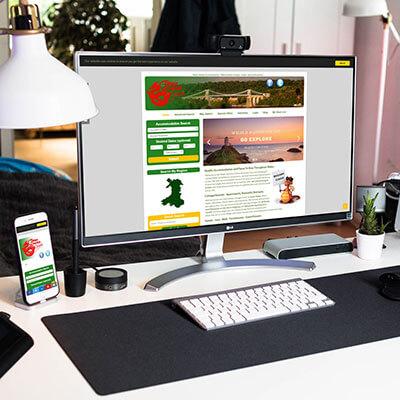 Holiday Directory Web Design
