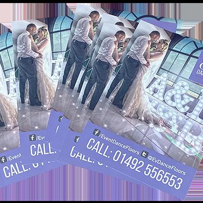Event Dance Floors Leaflet Design