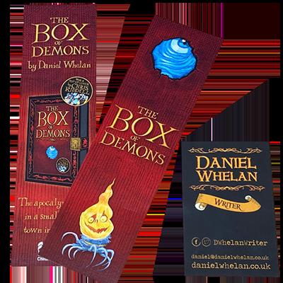 Box Of Demons Print Design