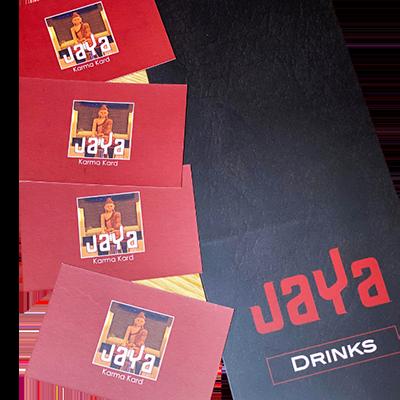 Jaya Restaurant Print Design