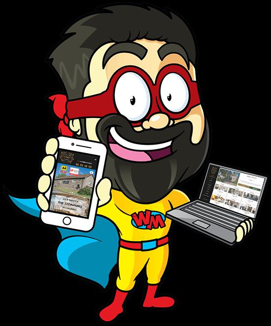 The Amazing Webman Website Design