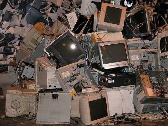 pile of computers