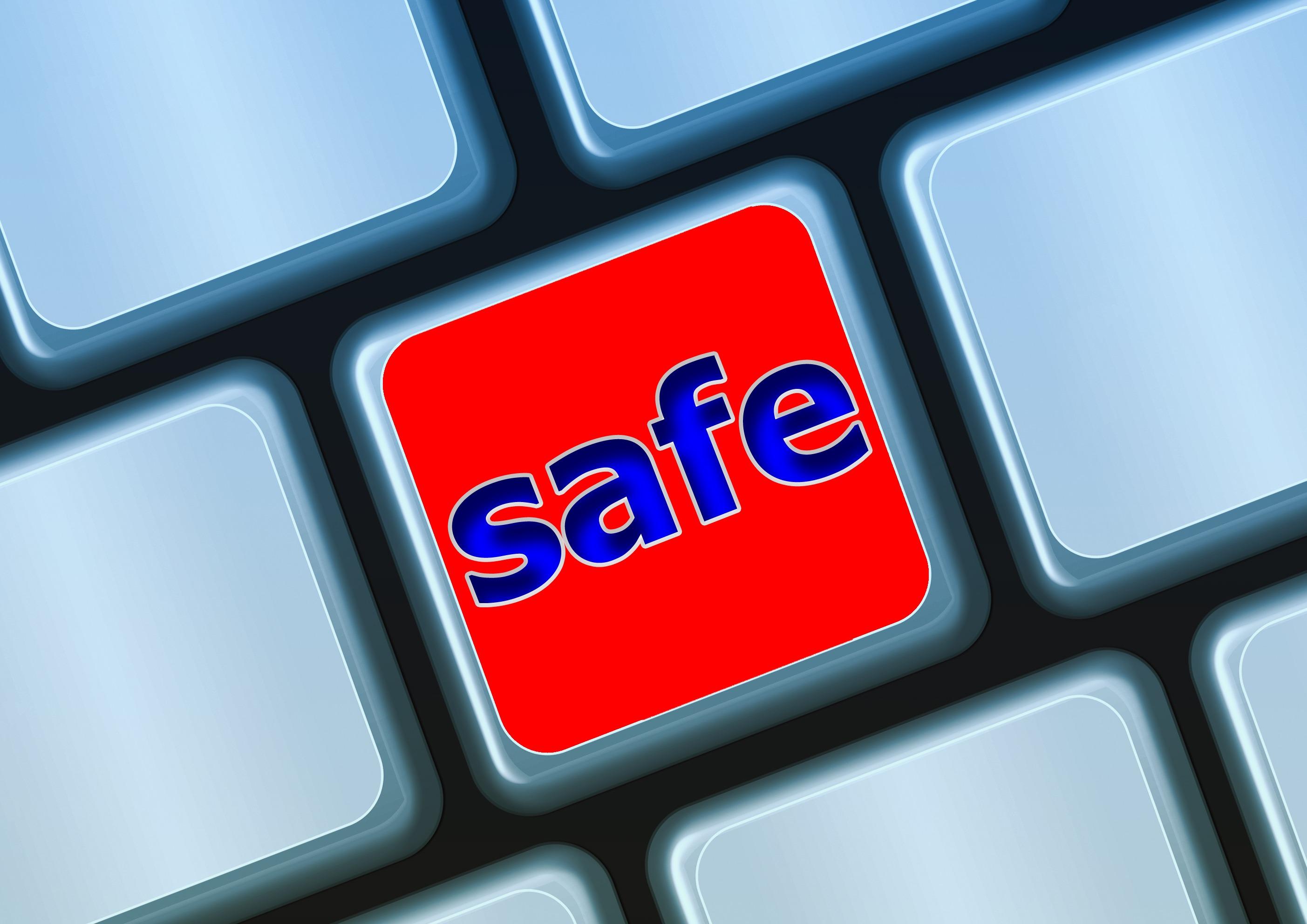 keyboard safe password