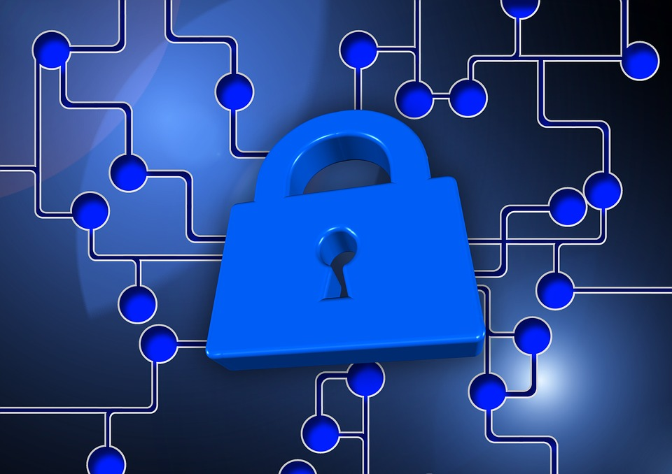 blue padlock image