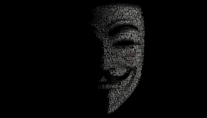 Anonymous Hacker Face Image