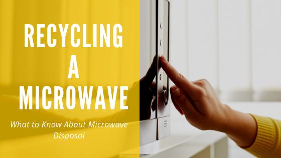 microwave disposal