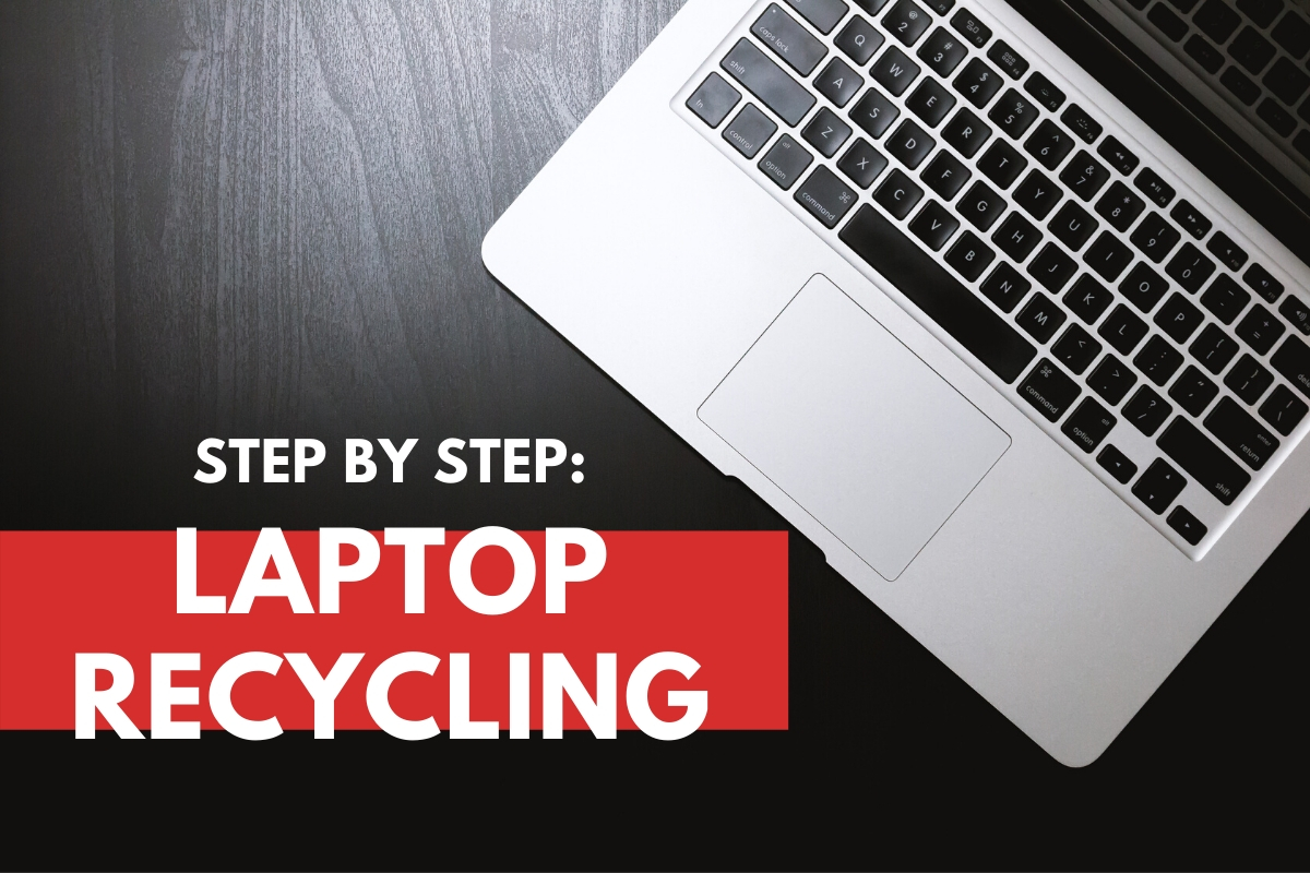 Top View of a Laptop - Step By Step: Laptop Recycling
