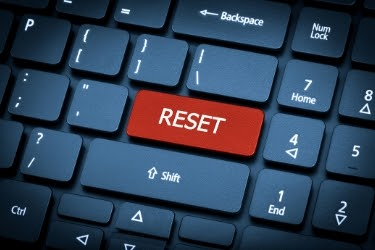 Factory Reset - Reset button in the keyboard