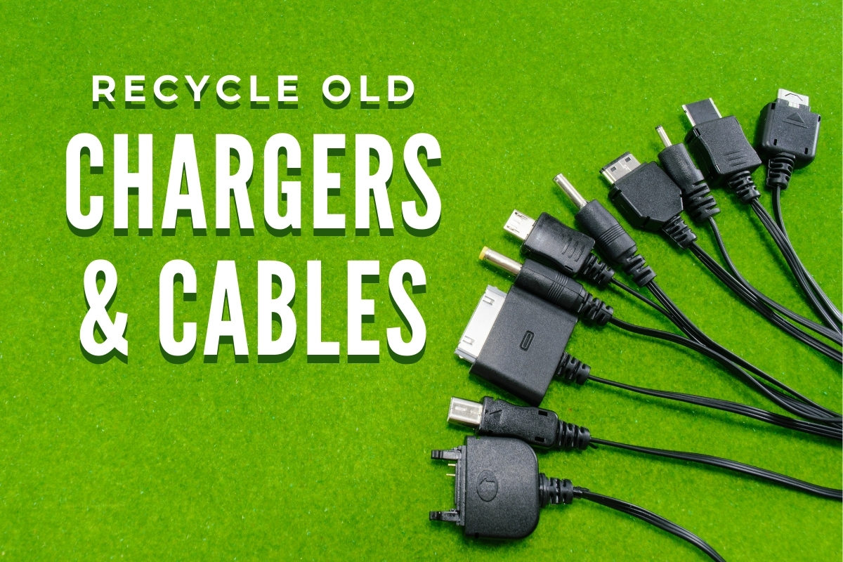 Different charging cables - Recycle Old Chargers and Cables