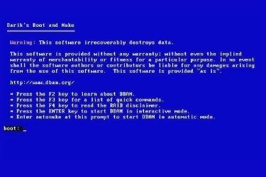 DBAN software