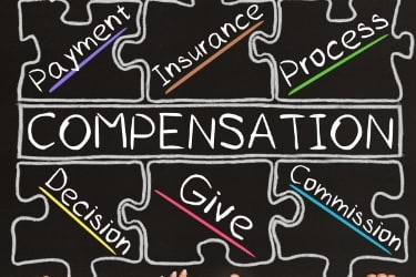 Compensation package - Payment, insurance, process, decision, give, commission