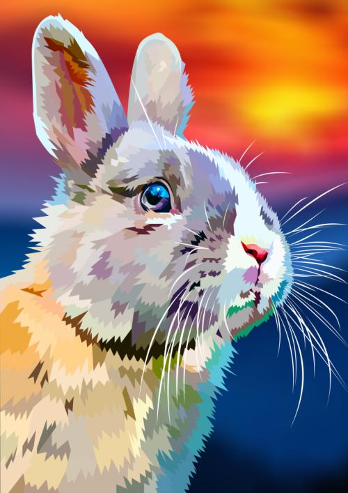 Konijntje, Rabbit