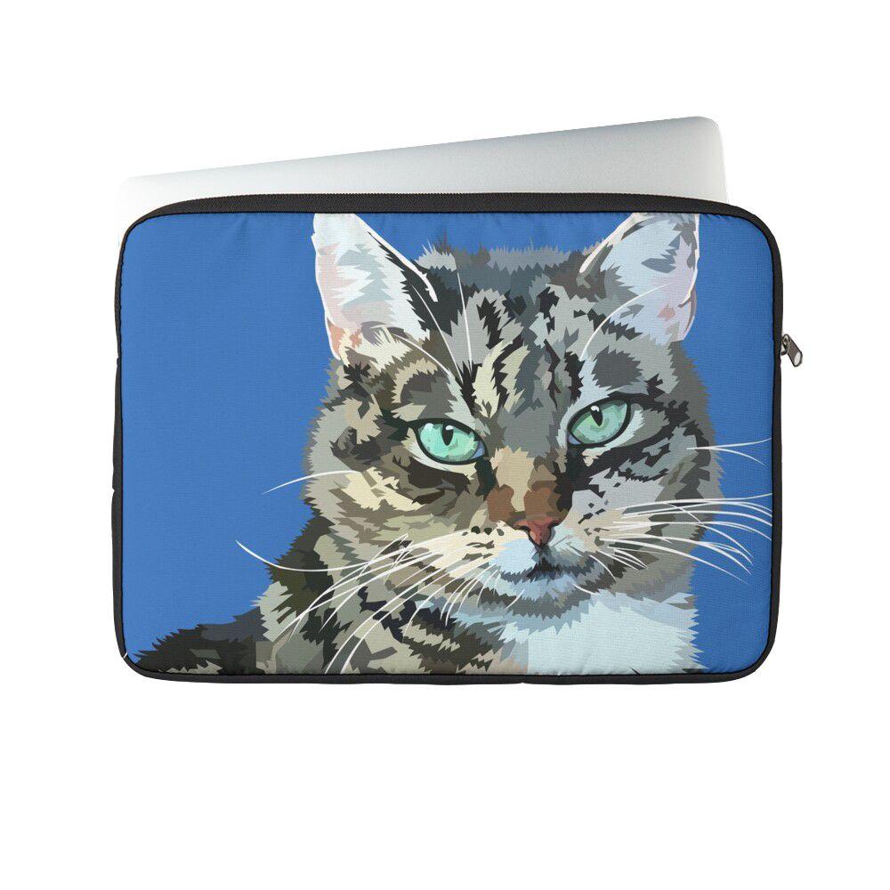Cat Cromwell -Laptop sleeve