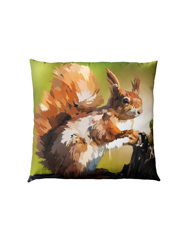 It's Squirrel Time - Pillow