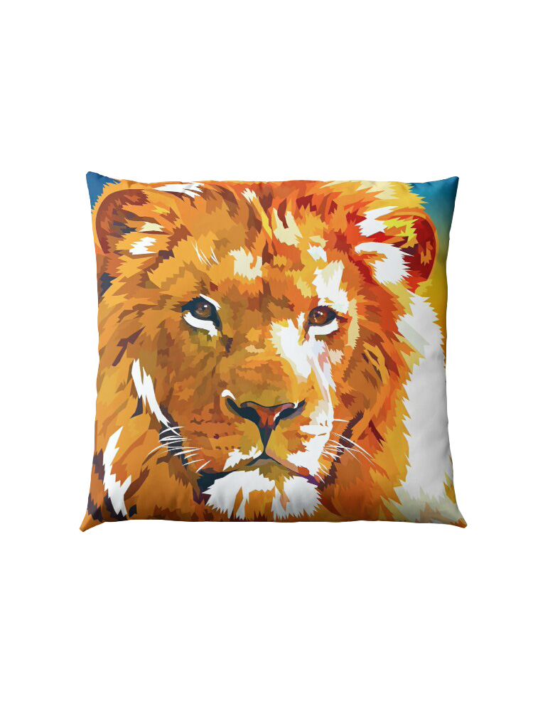 Lion - King of the Jungle -  Pillow