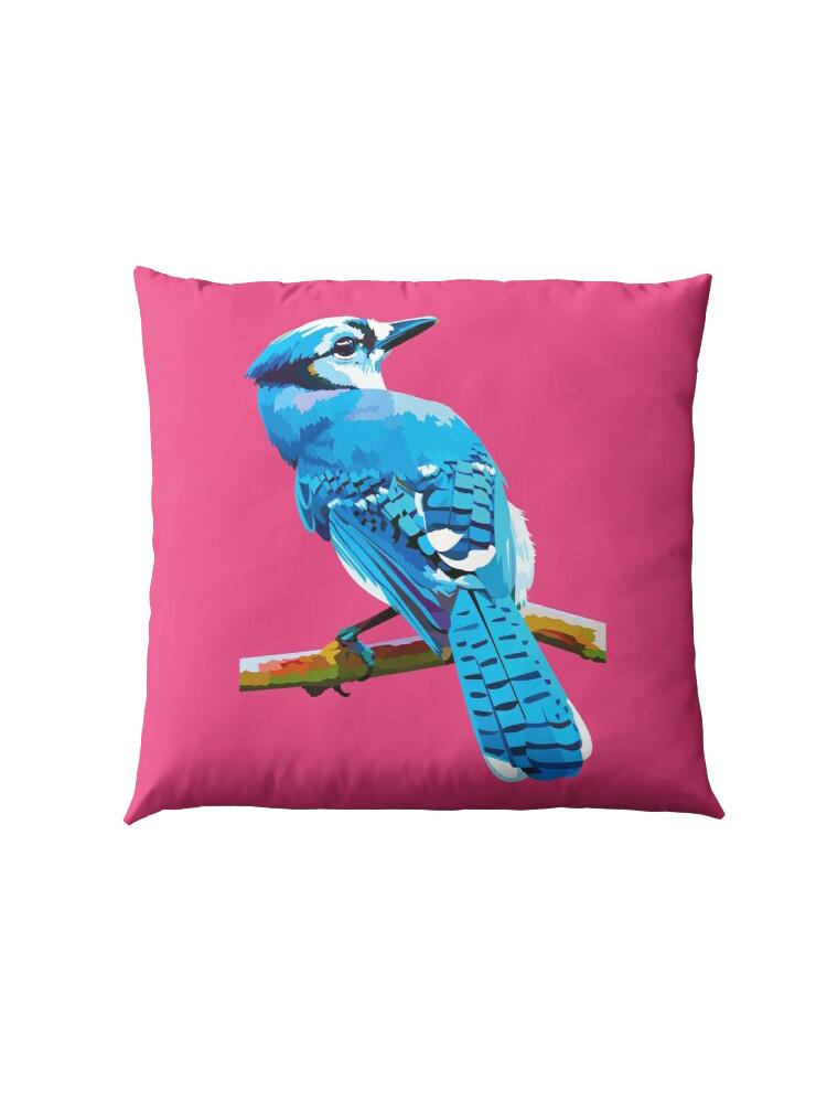 Blue Jay - Pillow
