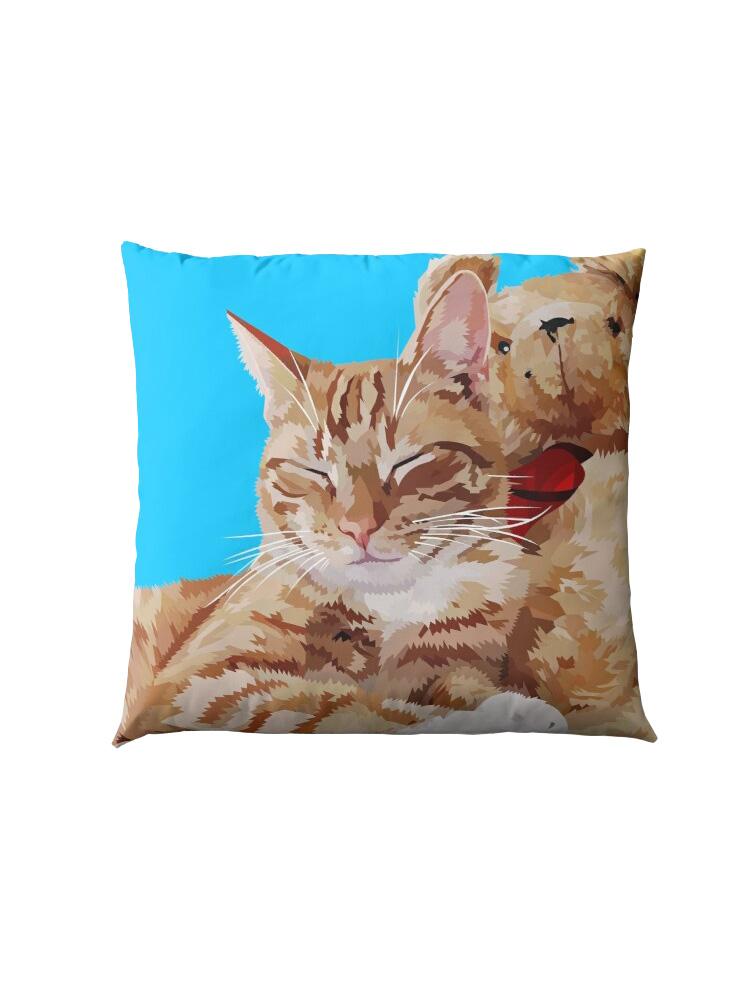 Relaxing Cat - Pillow