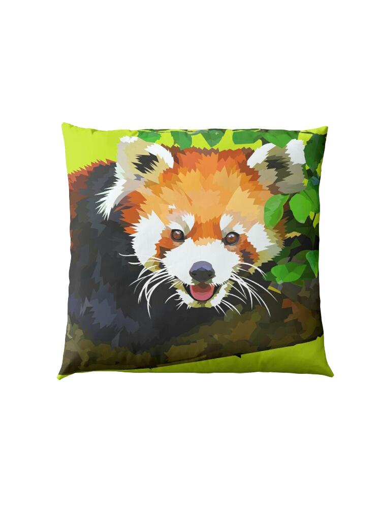 Red panda in Tree - Pillow