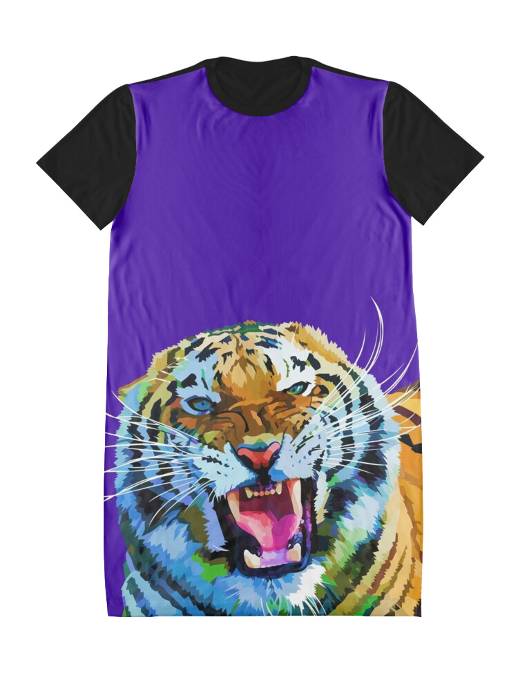 Roaring tiger - Dress
