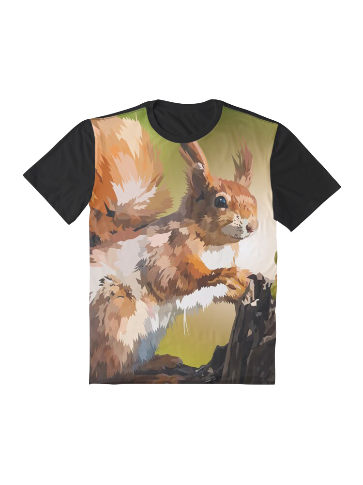 It's Squirrel Time - Tshirt