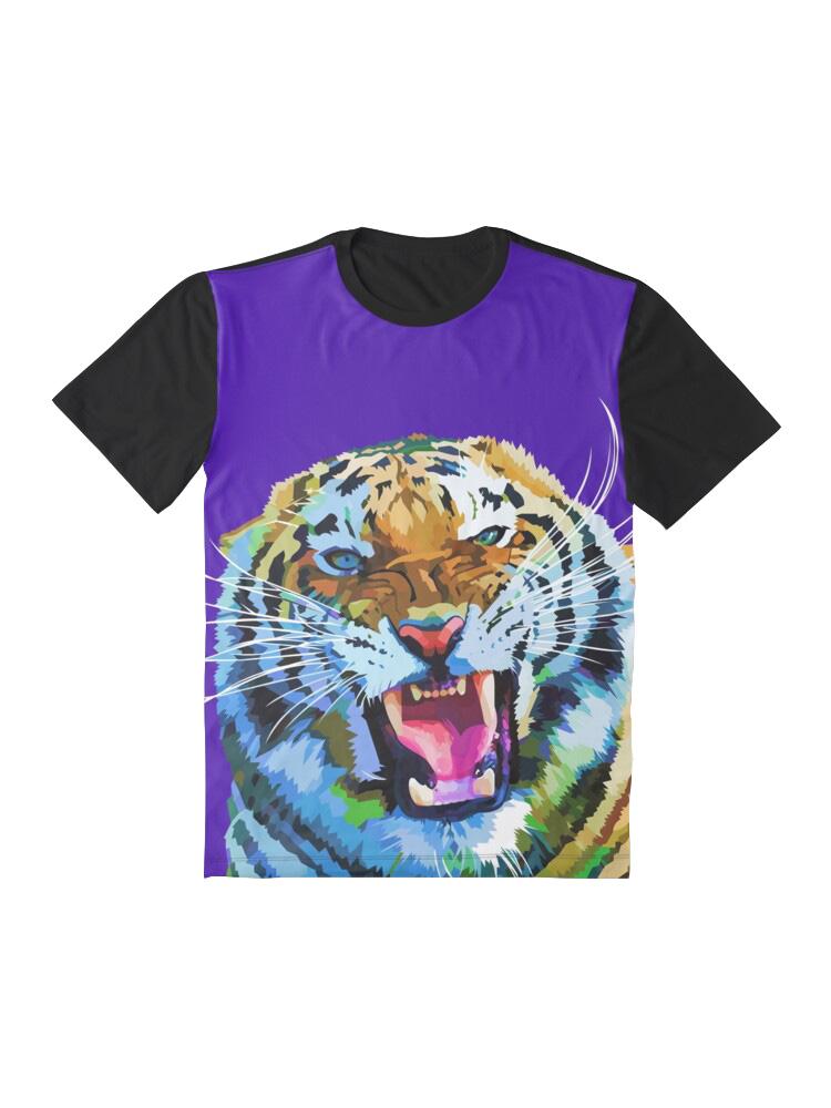 Roaring Tiger - Tshirt