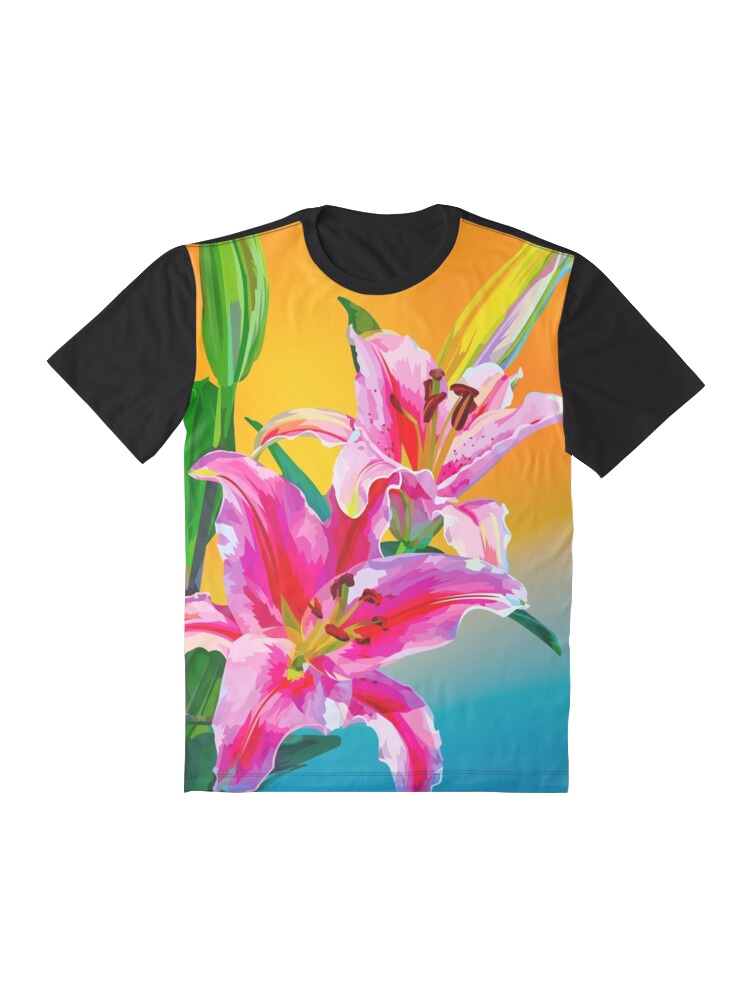 Tropical Flowers - Tshirt