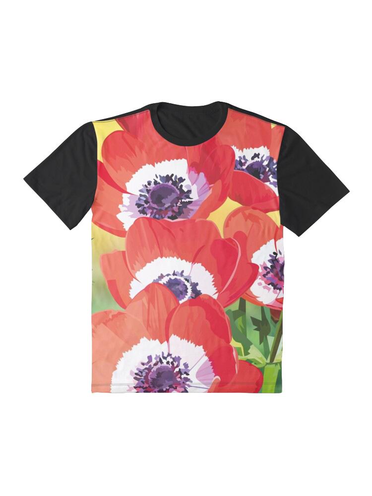 Red poppies - Tshirt