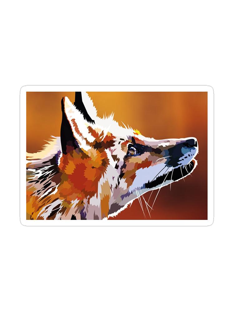 Rising Fox - Sticker