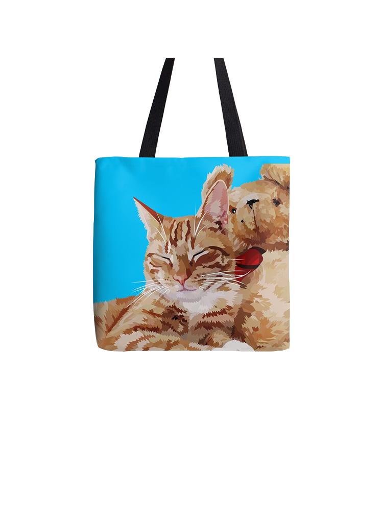 Relaxing Cat - Tote bag