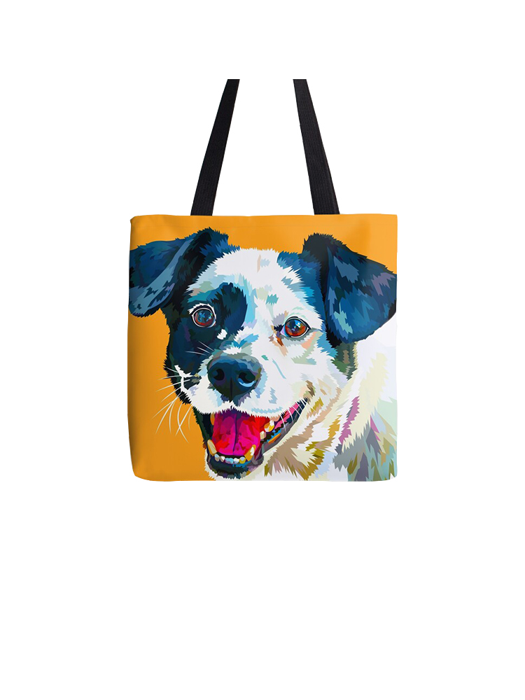 Happy Dog - Totebag