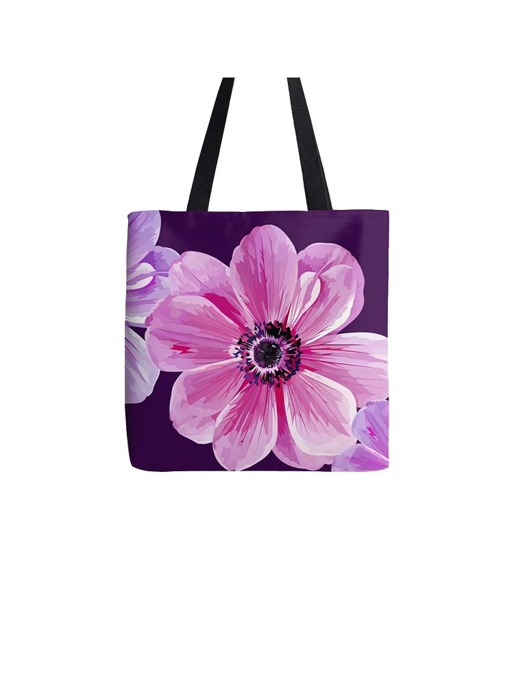 Three Flowers -Tote bag