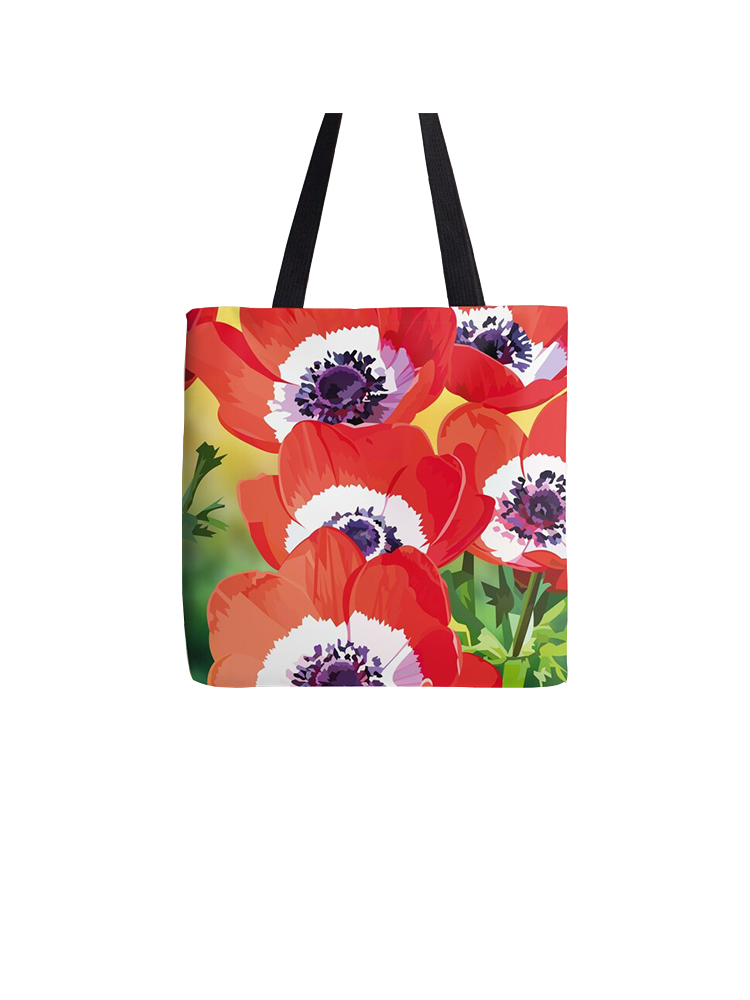 Red poppies - Bag