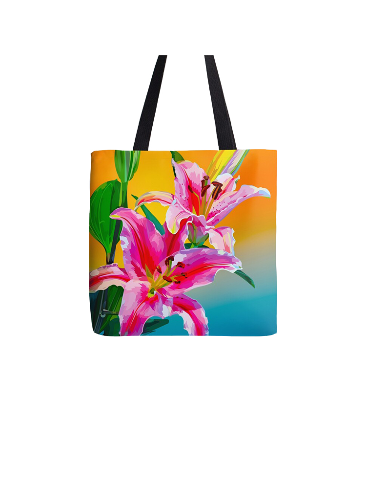 Tropical Flowers - Tote Bag
