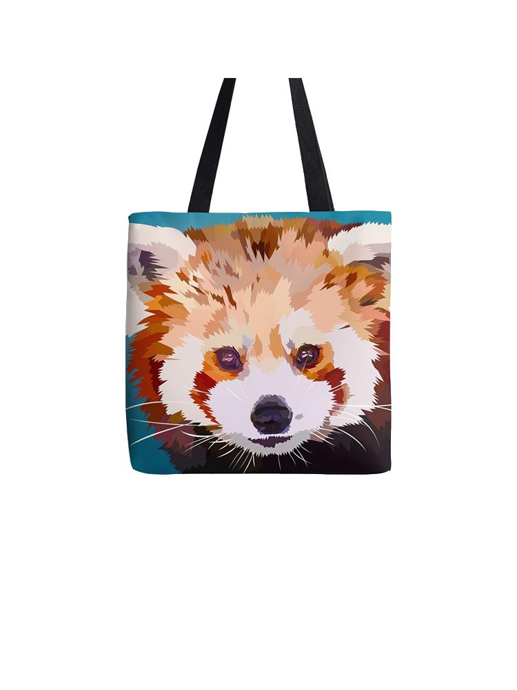 Red panda  blauw - Tote bag