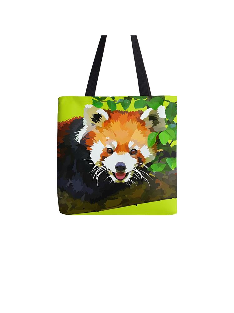 Red panda in Tree - tote bag