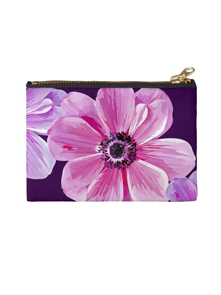 Three Flowers -Studio pouch