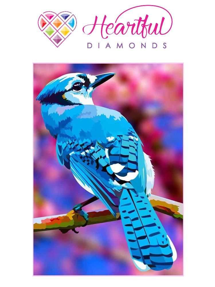 Blue Jay - Diamond painting