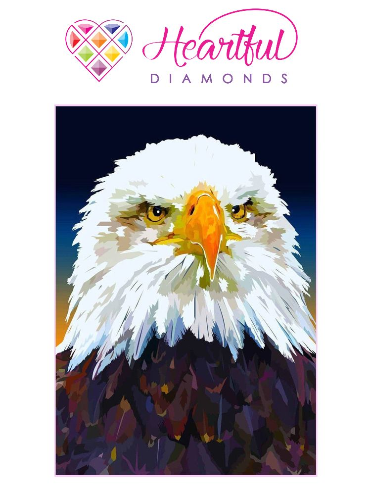 Bald Eagle - Diamond painting