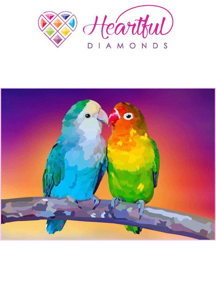 Love Birds - Diamond painting
