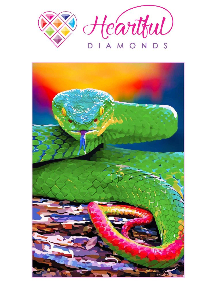 VIcious snake - Diamond painting