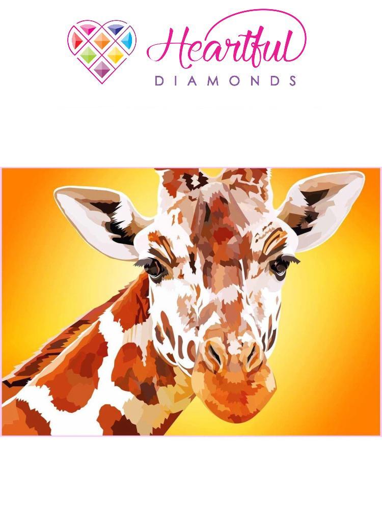 Giraffe - Diamond painting